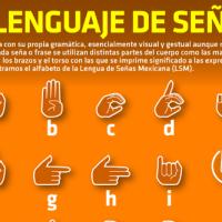 #Infografía El lenguaje de señas mexicano