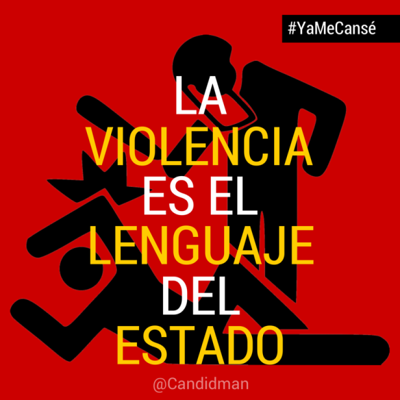 Image result for violencia del estado