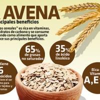#Infografia La avena y sus principales beneficios