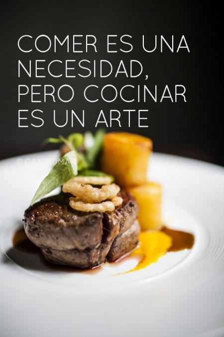 Comer es una necesidad pero cocinar es un arte candidman for Cocinar en 10 minutos