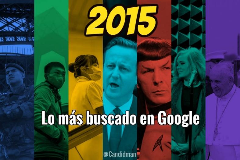 2015 Lo más buscado en Google @Candidman