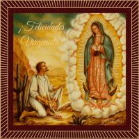 ¡Felicidades Virgencita! Santa María Virgen de Guadalupe