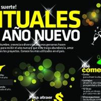 #Infografía Rituales de Año Nuevo