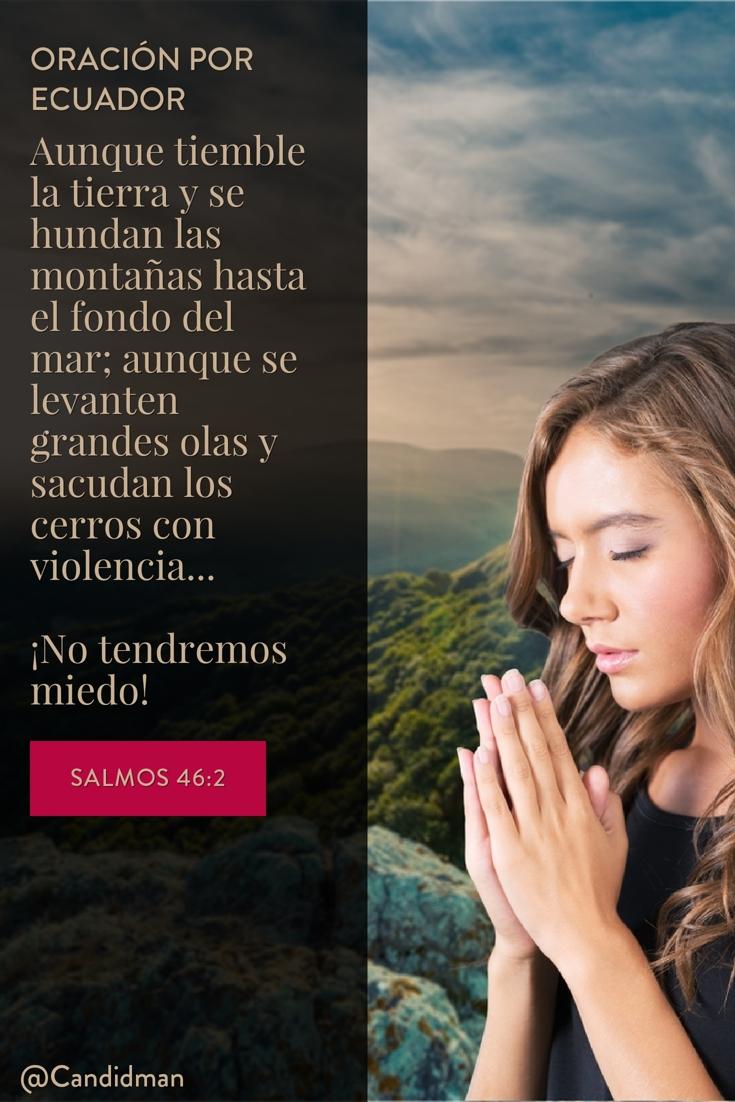 20160417 PrayForEcuador Oración por Ecuador - @Candidman pinterest
