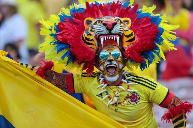 COLOMBIA SE ENFRENTA A PARAGUAY EN EL  ROSE BOWL