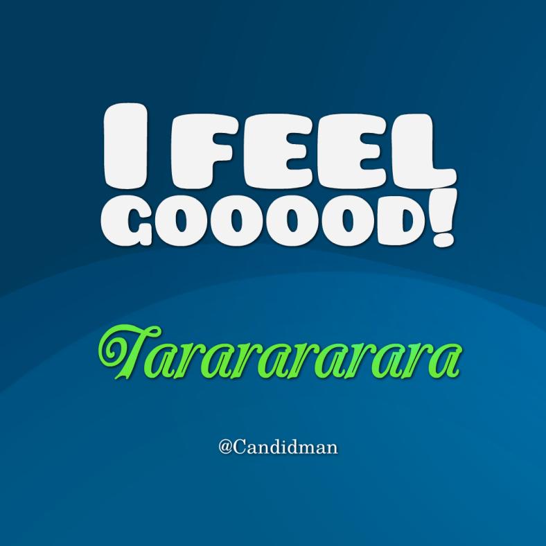 20160717 I feel gooood! Tararararara - @Candidman
