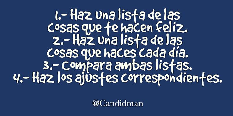 201609 Método para ser feliz - @Candidman Twitter