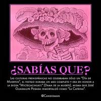 #SabiasQue el autor de #LaCatrina fue José Guadalupe Posada