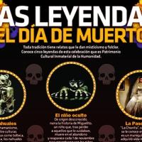 #Infografia Las #Leyendas del #DiaDeMuertos