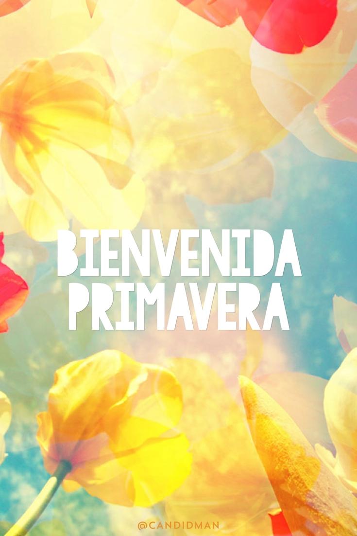 20170320 Bienvenida Primavera - @Candidman pinterest