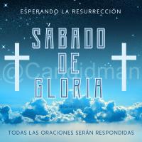#SabadoDeGloria Esperando la resurrección, todas las oraciones serán respondidas - @Candidman