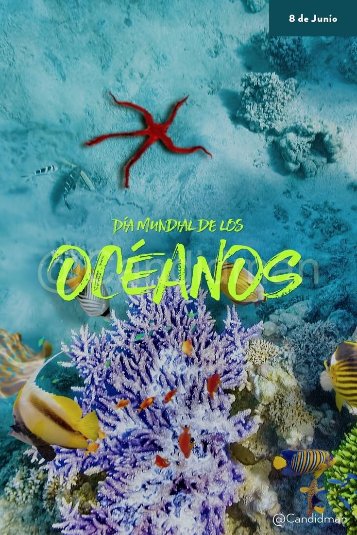 20180608 8 de Junio Día Mundial de los Océanos - @Candidman pinterest W