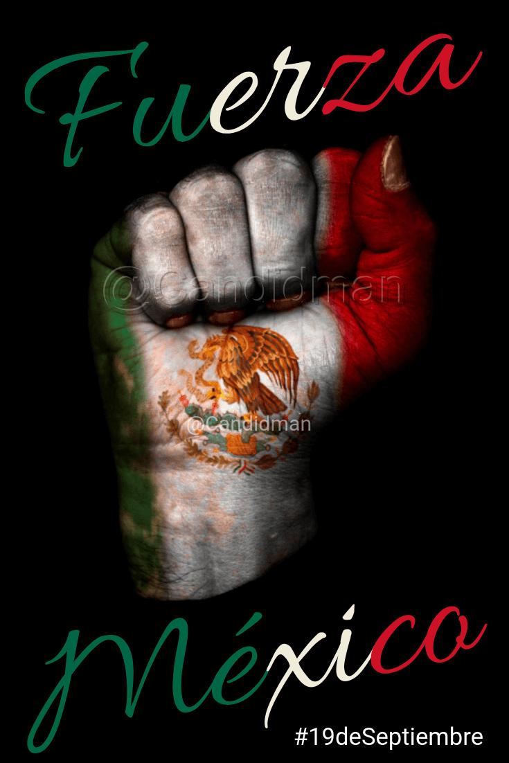 20180919 19 de Septiembre Fuerza México - @Candidman Pinterest W X