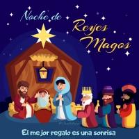 #FelizNocheDeReyes Noche de #ReyesMagos El mejor regalo es una sonrisa - @Candidman